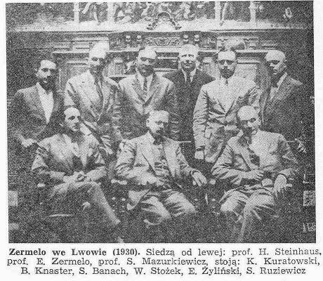 Lwowska szkoła matematyczna+E.Zermelo (1930)
