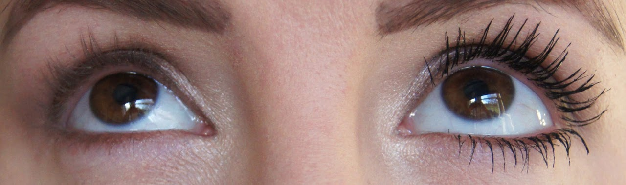 maybelline lash sensational mascara swatch with without before after