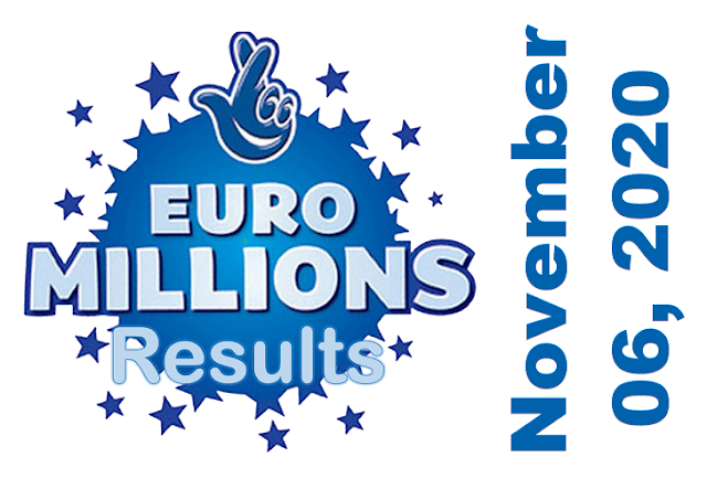 EuroMillions Results for Friday, November 07, 2020