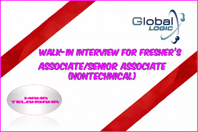 Walk-in interview for fresher's in Hyderabad
