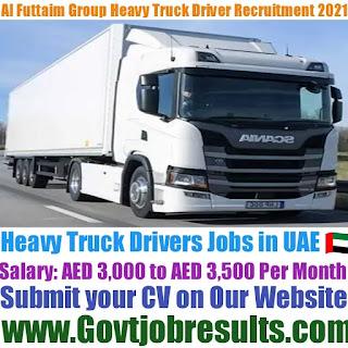 Al Futtaim Group Heavy Truck Driver Recruitment 2021-22