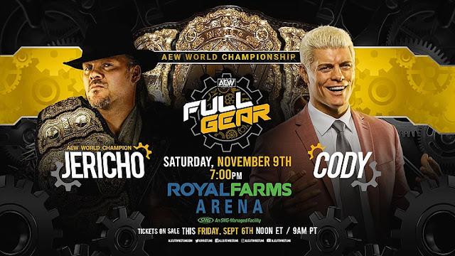 Jön Cody és Jericho összecsapása az AEW-ban