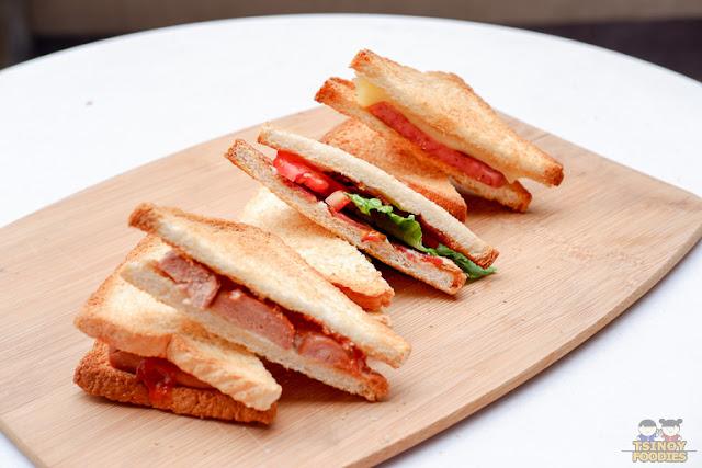 Primaduck Sandwich Platter