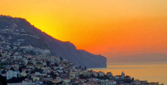 a new morning in Funchal city