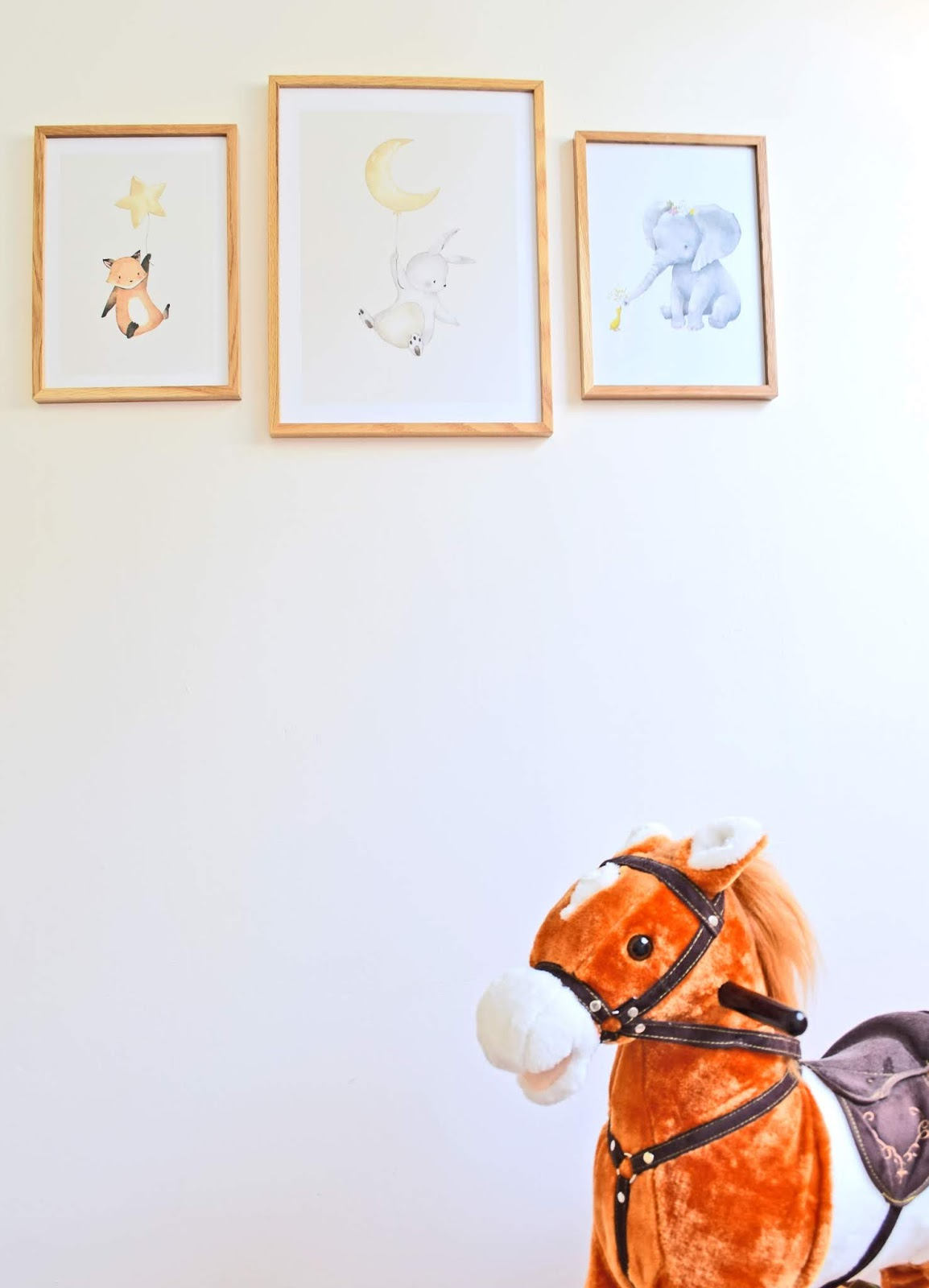 Obrazki w pokoju dziecka