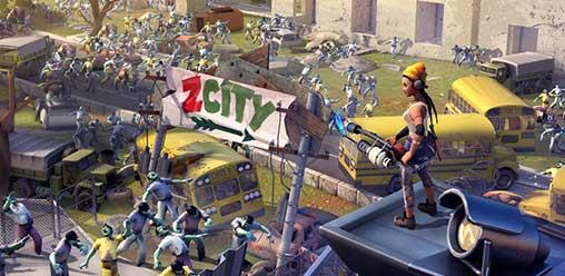 تحميل لعبة Z City مهكرة اخر اصدار