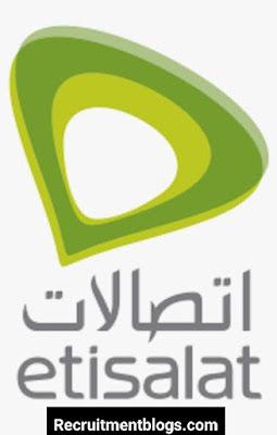Fresh graduate Sales Agent At Etisalat Egypt