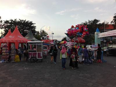 Lebaran Puasa Ramadhan Takjil Bazar