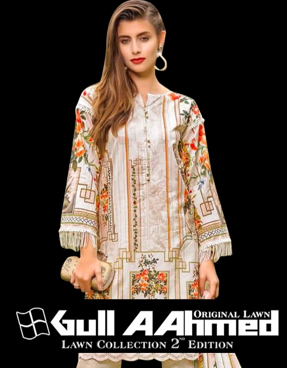 bdc89d921a Gull a ahmed Lawn Collection vol 2 Pakistani Suits wholesaler ...
