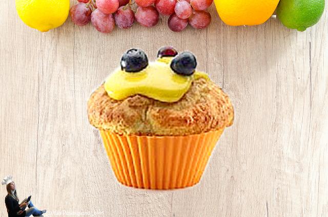 Маффины и капкейки со свежими фруктами - базовый рецепт