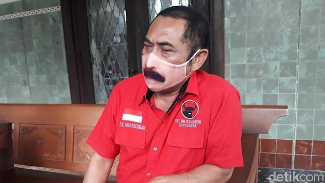 """PDIP Solo Tidak Berdaya """"Lawan"""" Gibran, FX Rudy dkk Hanya Bisa Minta Bargaining"""