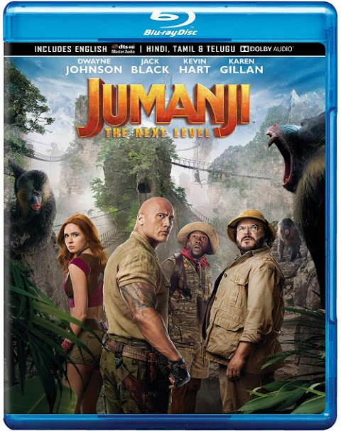 Download Jumanji The Next Level (2019) BluRay Original Multi Audio (Tamil + Telugu + Hindi+English) 720p 1.1GB full Movie