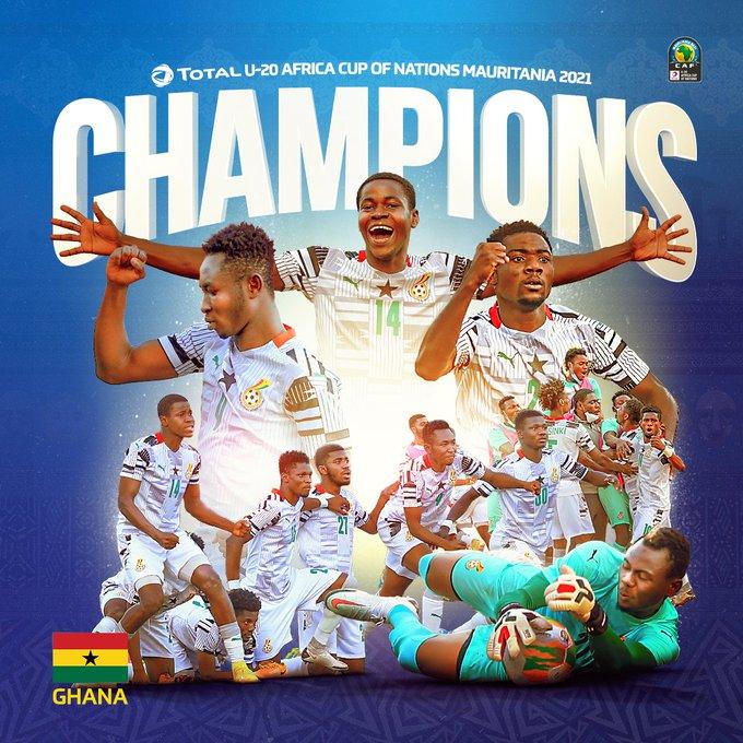Ghana U20 wins 4th AFCON on Ghana's Independence day