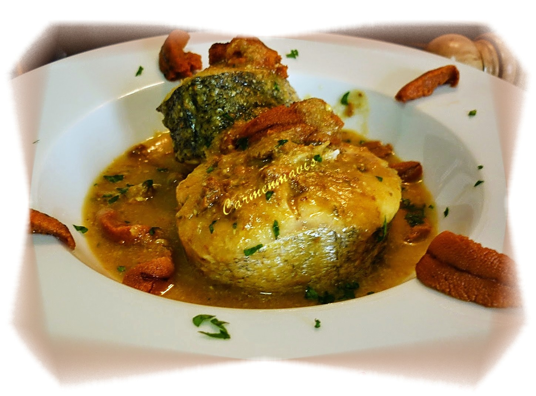 La Cocina De Carmenmavis Merluza En Salsa De Oricios