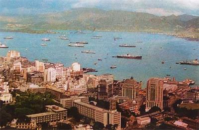 Gambar Pusat pelabuhan Hong Kong