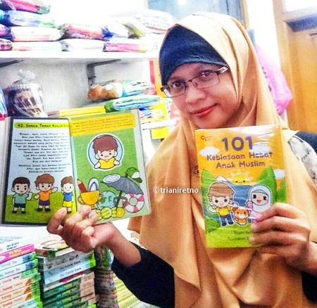 Ini Dia Pemenang Kuis 101 Kebiasaan Hebat Anak Muslim