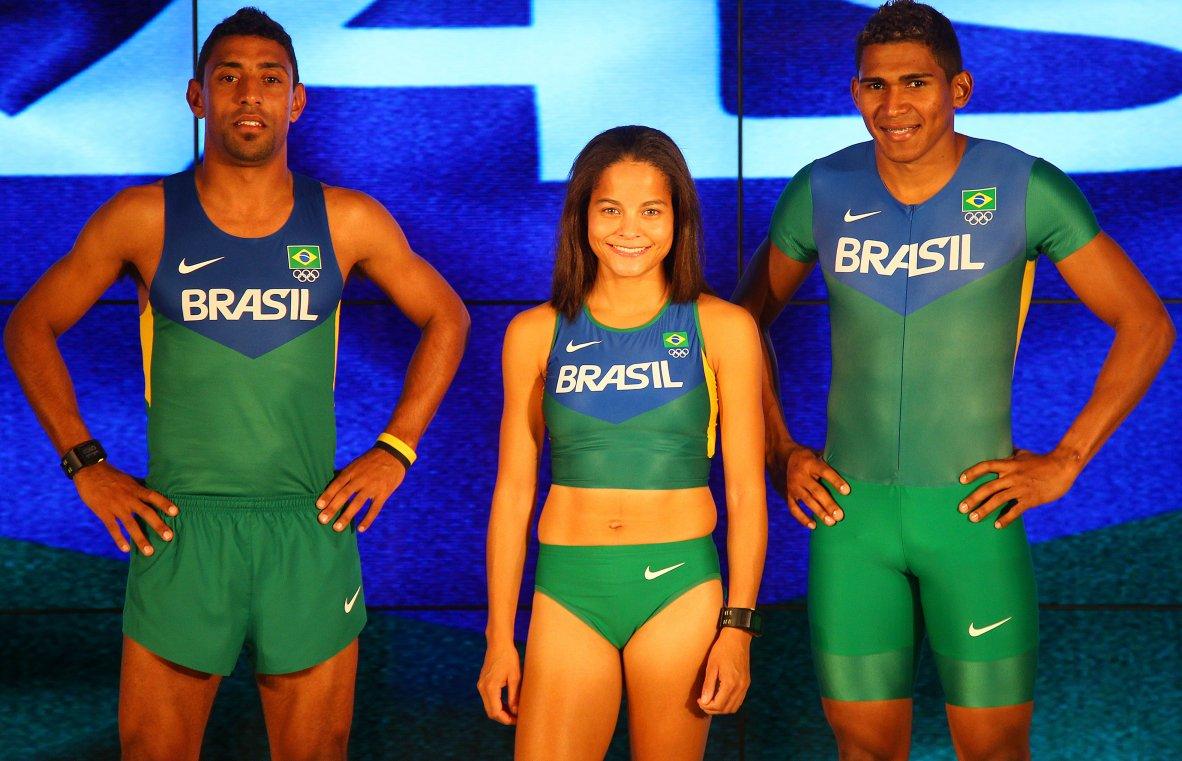 Atletismo brasileiro veste uniformes especiais em busca de recordes e  vitórias - Show de Camisas 82066cbb3080c