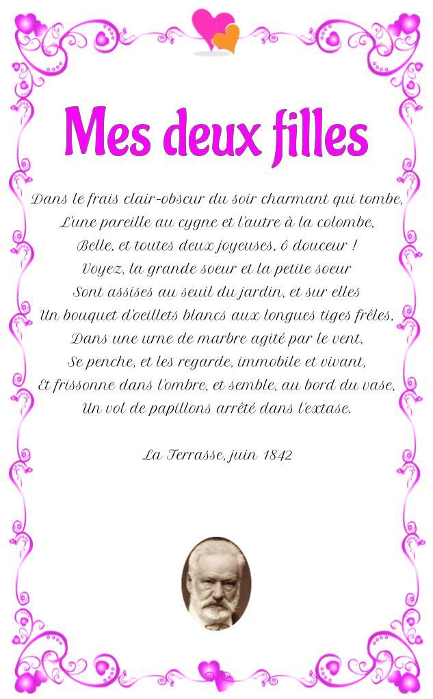Victor Hugo Poeme D Amour : victor, poeme, amour, Filles, Victor, Poésie, D'amour