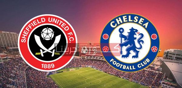 مشاهدة مباراة تشيلسي وشيفيلد يونايتد كورة لايف بث مباشر اليوم 11-7-2020
