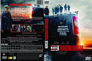 Kursk - Cover - DVD