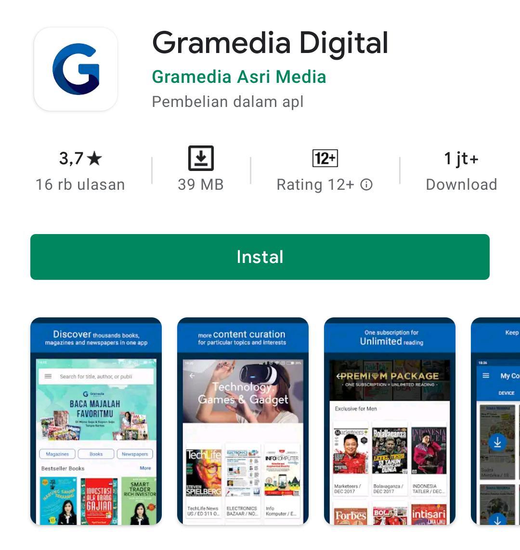 Aplikasi perpustakaan online