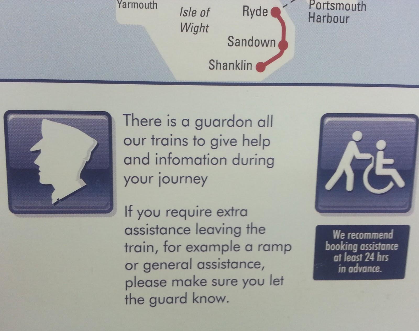 Railway Eye - the railway blog: Pointless signs - Class 455