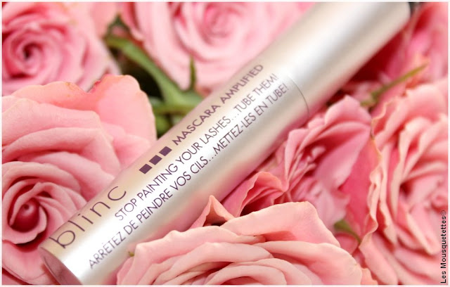 Mascara Amplified - Blinc - Avis blog beauté Les Mousquetettes©
