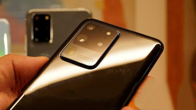 الصور الاولى من  هواتف Samsung Galaxy S20 و Galaxy S20 + و Galaxy S20 الذي تم عرضها في اوسكار