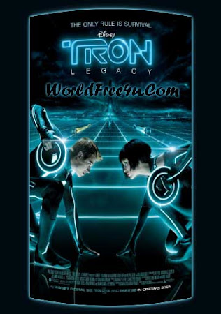 Poster Of Tron: Legacy 2010 In Hindi Bluray 720P Free Download