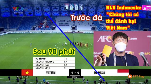 Công Phượng ghi bàn, đội tuyển Việt Nam thắng Indonesia 4 - 0 và xây chắc ngôi đầu