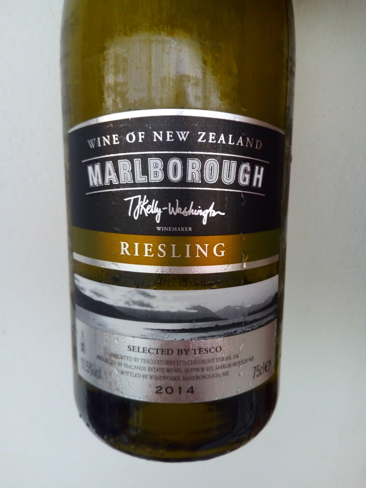 My Wine Tesco Finest Marlborough Riesling 2014