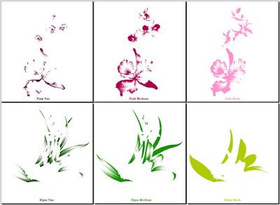 anseries design pembagian warna