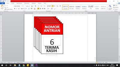 Cara Membuat Nomor Urut Otomatis di Microsoft Word