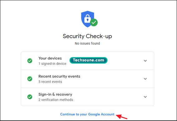 تغيير كلمة المرور Gmail 5