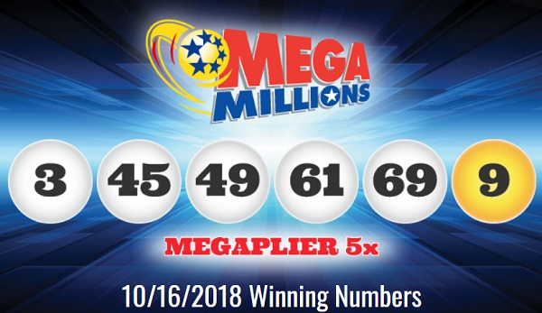 Mega Millions Winning Numbers October 16 2018