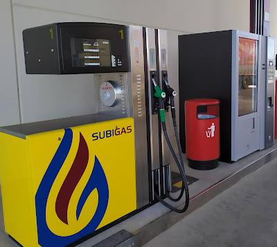 Carburante microfiltrado en Subigas
