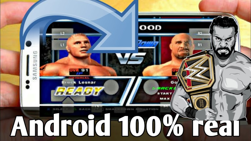 wwe smackdown here comes the pain game on android
