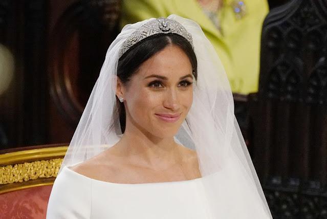 Revelan secretos detrás del vestido de novia de Meghan Markle