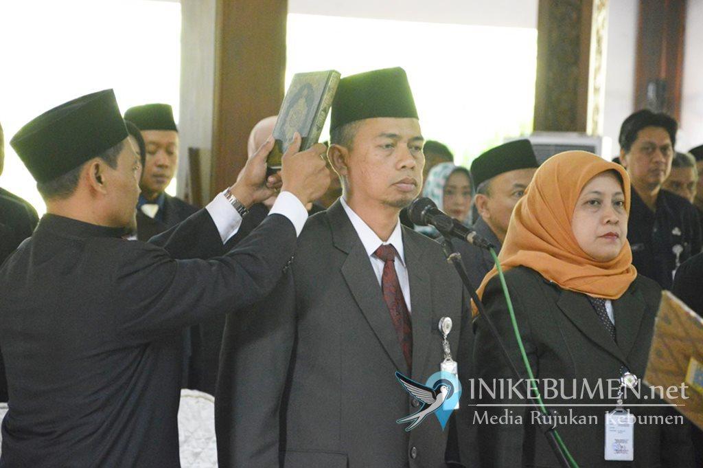 Sah, Haryono Wahyudi Jabat Kepala DPUPR Kebumen