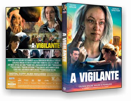 DVD A Vigilante 2019 - DVD-R