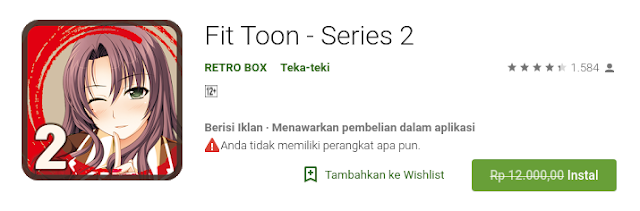 Fit Toon - Series 2 (Free sampai 20 Agustus)