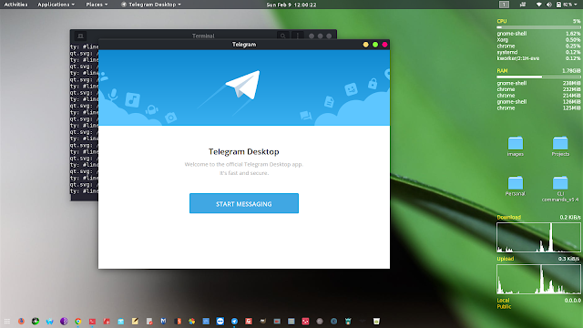 telegram application