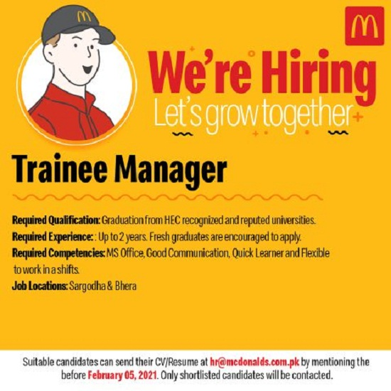 mcdonalds-pakistan-limited-jobs-2021-advertisement