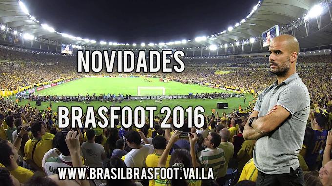 Novidades Brasfoot 2016