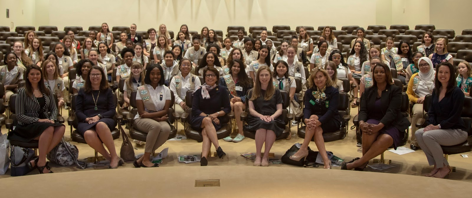 Girl Scouts Take on Civic Education to Make Our Country (and