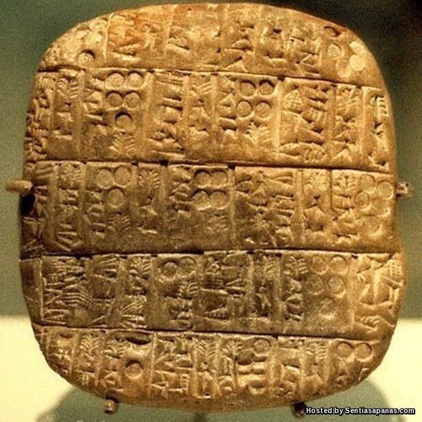 Batu bersurat Ebla