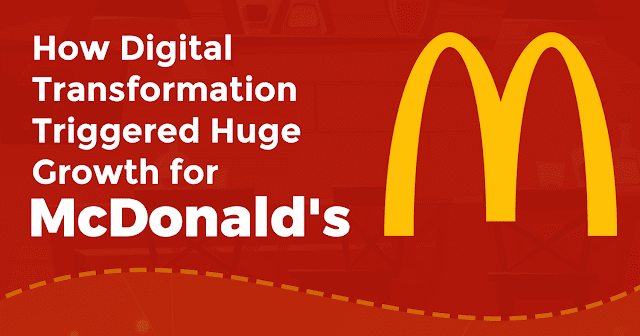 "MCDONALD'S DIGITAL TRANSFORMATION & WHY WE'RE ALL ""LOVIN' IT"" #infographic"