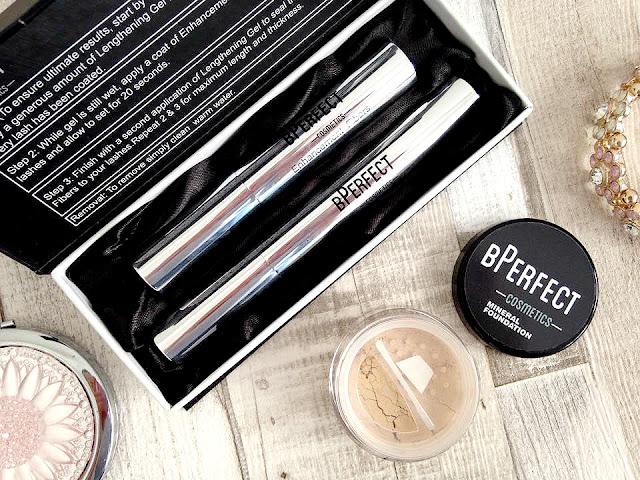 BPerfect Brush on Lashes and Mineral Foundation Review