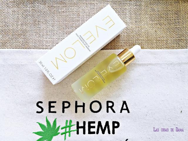 Radiance Oil  Eve Lom hemp sephora cáñamo cbd cannabis beauty belleza