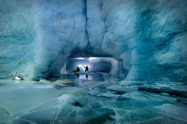 Gorner Glacier, Valais, Swiss